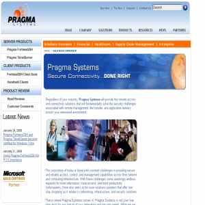 SCP - Pragma Systems