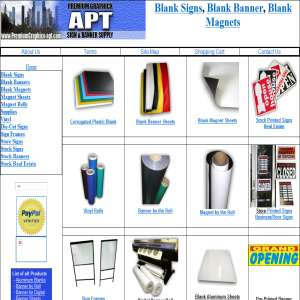 Signs & Banner Supplies