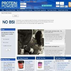Whey Protein - ProteinPowder.com.au