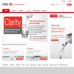 HSBC EU Payment Services Regulations