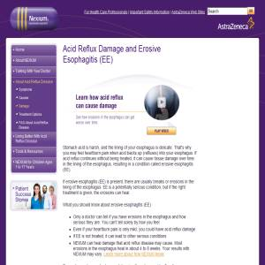 Acid Reflux Disease Damage