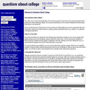 Questions About College