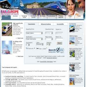 Rail Europe - European Train Tickets Online