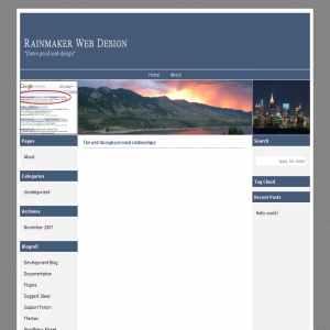 Rainmaker Web Design