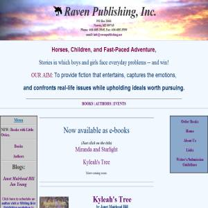 Raven Publishing, Inc. of Montana