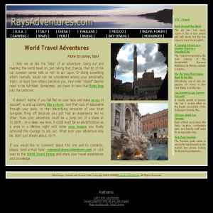 Rays Adventures | World Travel Experiences & Other Adventures