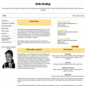 Reiki | reiki4healing.info