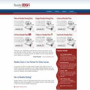 ResellerZoom.com - Failover Reseller Hosting