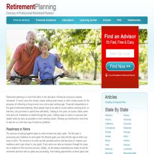 Planning a Retirement