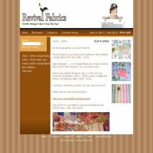 Vintage Fabric at Revival Fabrics