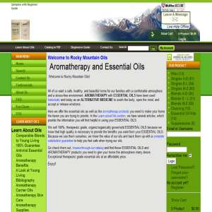 Rocky Mountain Oils - Pure Essential Oils