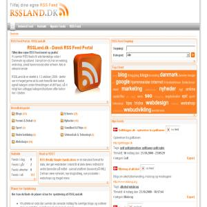 RSS Feeds Portal in Denmark