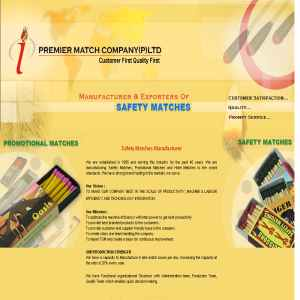 Promotional Matches Manufacturer