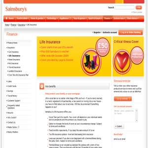 Life Insurance - Sainsburys