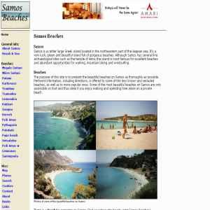 Samos Beaches | Guide to beaches on Samos
