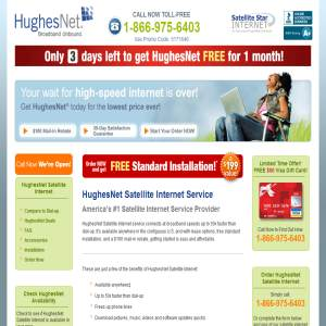 Hughes Net Satellite Internet Service