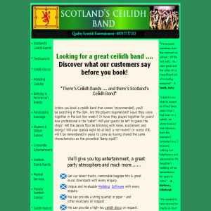 Scottish ceilidh bands