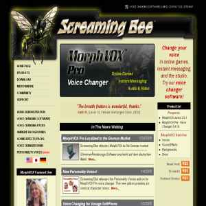 Screaming Bee | Voice Changing Software