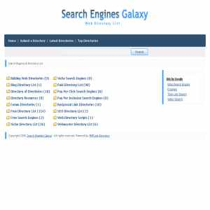 Searchenginesgalaxy | Search Engines & Directory List