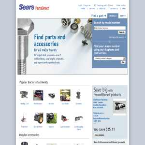 Appliance Parts: Sears Appliance Parts