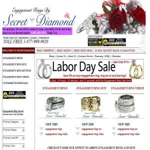 Engagement Rings By Secret Diamond