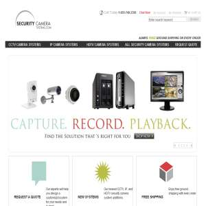 Security Cameras from SecurityCameraSystems.com