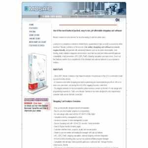mosaic e-commerce solution