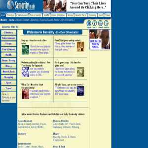 Over 50 website | Seniority