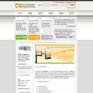 SG Managed Web Hosting