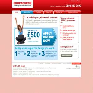 Cash Loans - Shopacheck Financial Services