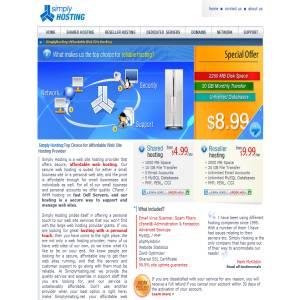 SimplyHosting.net - Affordable Web Hosting