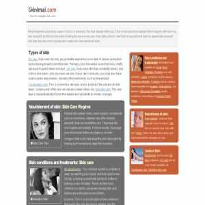 Skin Care at Skinimal.com