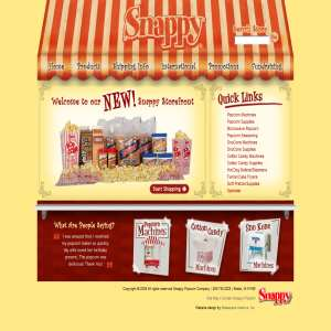 Popcorn Machines - Snappy Popcorn