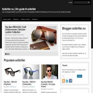 Solbriller.nu | Din guide til solbriller