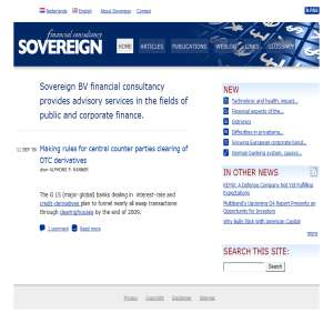 Sovereign bv financial consultancy
