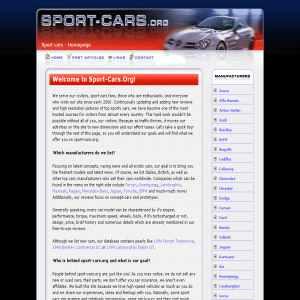 Sport cars | Homepage