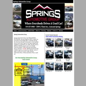 Used cars in Colorado Springs