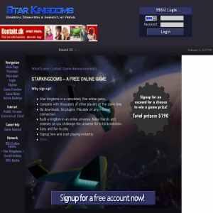 Star Kingdoms - A Free Online Game