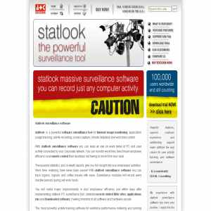 Statlook surveillance software