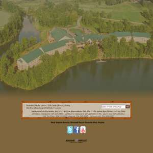 West Virginia Resorts: Stonewall Jackson Resort Roanoke WV