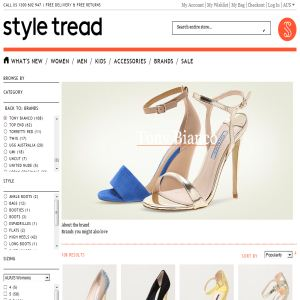 Tony Bianco Shoes Online @ Styletread