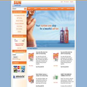 Self Tan - Sun Labs- Sunlabs- Tanning Products