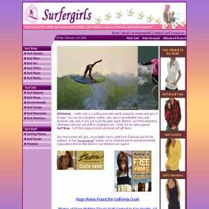 Surfer Girls- Surf Shop and Surfing Stuff