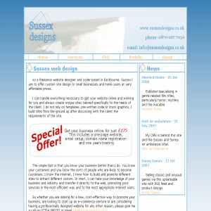 East Sussex web design