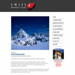 Swiss Property Sales - Property For Sale Switzerland