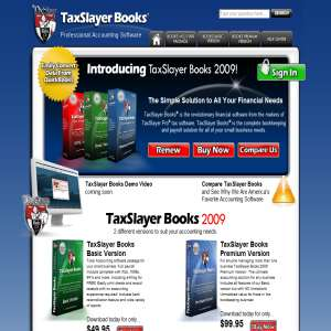 Accounting Software Online - Tax books