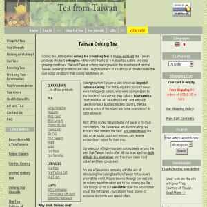 Oolong Tea from Taiwan