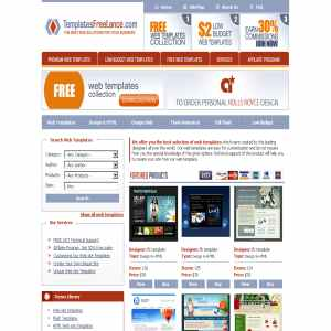 Website premium quality templates by TemplatesFreelance.com