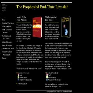 Prophesied End-Time Books