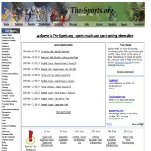 All sports results and statistics